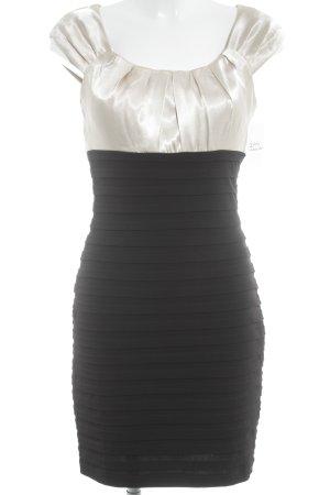 Mariposa Abendkleid schwarz-goldfarben Elegant