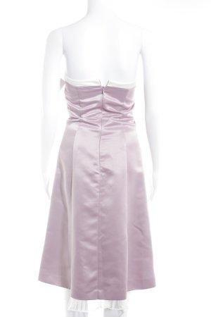 Mariposa Bandeaukleid rosa-wollweiß