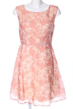 Mariposa Cocktailkleid creme-pink Blumenmuster Casual-Look
