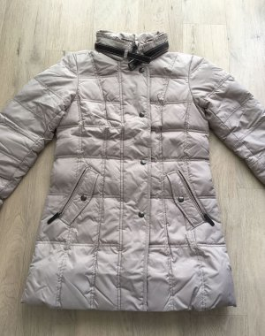 Mariposa Down Coat light grey polyester