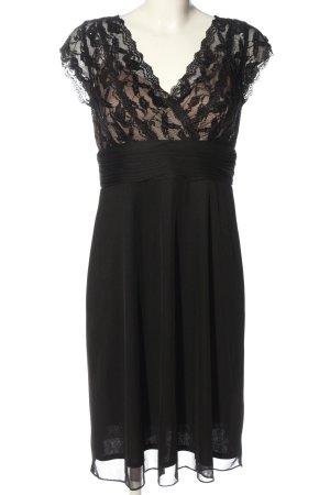 Mariposa Empire Dress black-brown elegant
