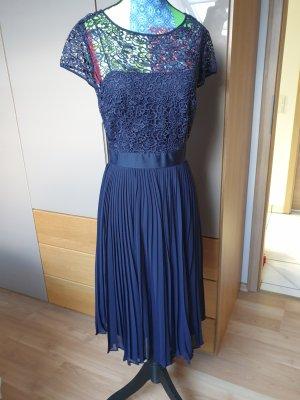 Mariposa Koronkowa sukienka ciemnoniebieski