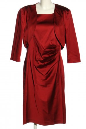 Mariposa Tailleur rouge style d'affaires
