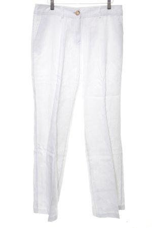 Mariposa Linnen broek wit zakelijke stijl