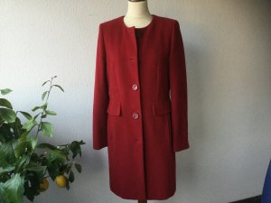 MARIPOSA Mantel Wollmantel rot Gr. 38 Wolle Cashmere
