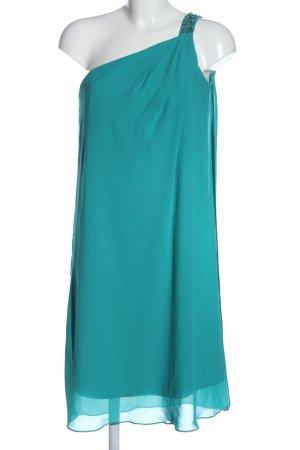 Mariposa Robe asymétrique turquoise élégant