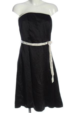 Mariposa schulterfreies Kleid schwarz Elegant