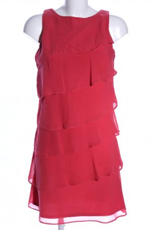 Mariposa Flounce Dress red elegant