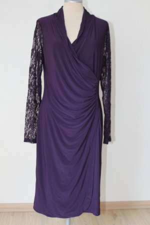 Mulberry Pencil Dress brown violet