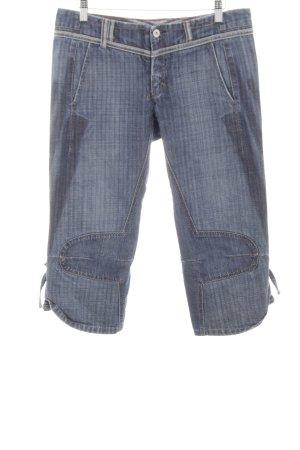 Marithé + Francois Girbaud 3/4 Jeans blau meliert Casual-Look