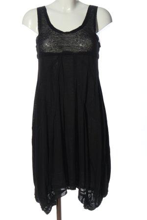Marithé + Francois Girbaud A Line Dress black flecked casual look