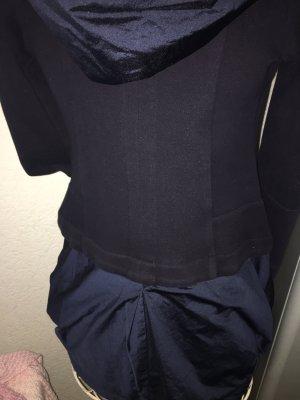 Marithe Francois Girbaud Designer Jacke 38 M D 40 F 44 I Mantel dunkelblau