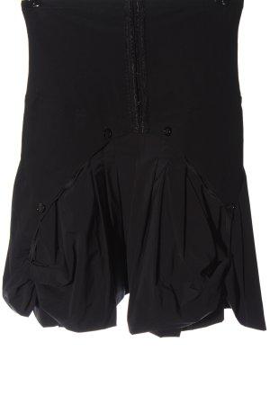 Marithé + Francois Girbaud High Waist Skirt black casual look