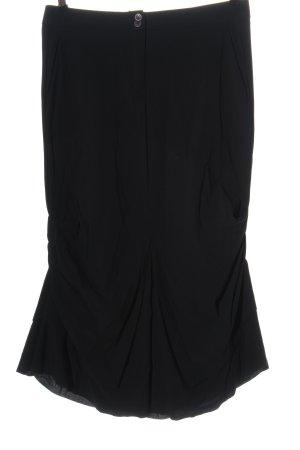 Marithé + Francois Girbaud Maxi Skirt black casual look