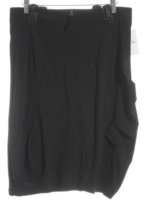 Marithé + Francois Girbaud Midi Skirt black casual look