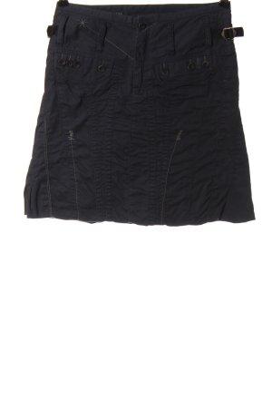 Marithé + Francois Girbaud Miniskirt black casual look