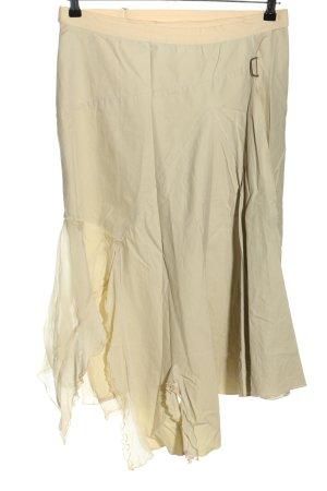 Marithé + Francois Girbaud Wraparound Skirt cream casual look