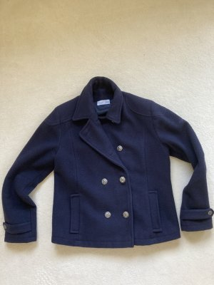 Pea Jacket dark blue