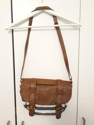 maritime gestreifte Handtasche