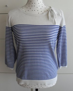 McGregor Knitted Sweater white-blue cotton