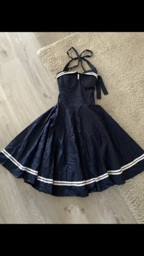 Maritimes Kleid Neckholder