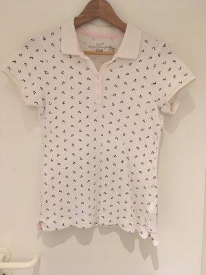 Maritimes Poloshirt von H&M in Größe M (38)