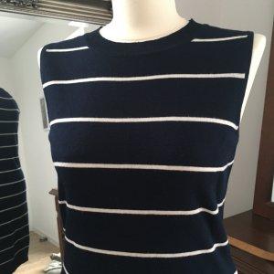 Apricot Jersey Dress white-dark blue