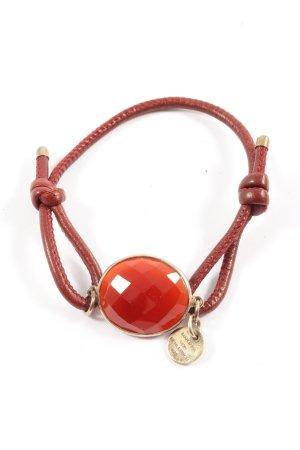 Marjana von Berlepsch Bracelet rouge style décontracté