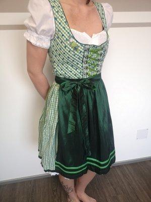 MarJo Vestido Dirndl verde-verde bosque
