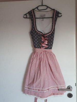 MarJo Dirndl rosa-rosa chiaro