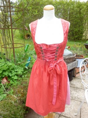 MarJo Dirndl red-bright red