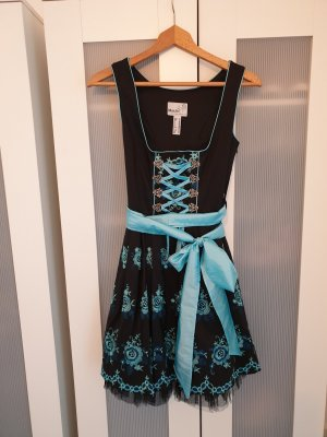 MarJo Dirndl black-light blue