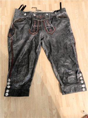 MarJo Pantalone in pelle tradizionale talpa
