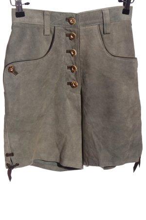 MarJo High-Waist-Shorts hellgrau Casual-Look
