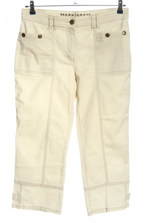 Mark Adam 7/8 Length Jeans cream casual look