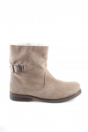 Mark Adam Ankle Boots wollweiß Casual-Look