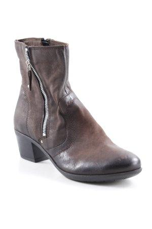 Mark Adam Ankle Boots dunkelbraun Casual-Look
