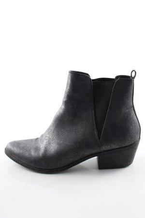 Mark Adam Ankle Boots schwarz Business-Look