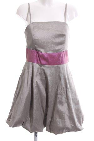 Mark Adam Ballonkleid hellgrau-pink Elegant