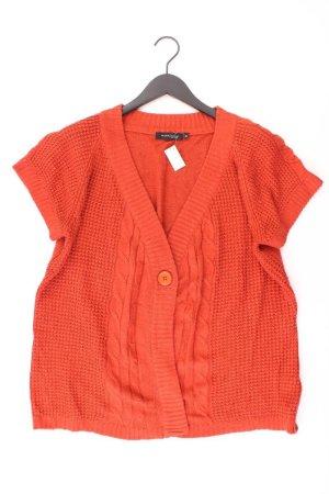 MARK ADAM Cardigan Größe 46 orange aus Acryl