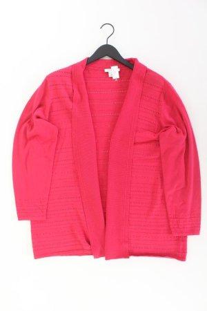 MARK ADAM Cardigan Größe 48 pink aus Baumwolle