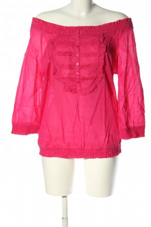 Mark Adam Carmen-Bluse pink Casual-Look