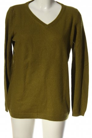 Mark Adam Kaszmirowy sweter brąz W stylu casual