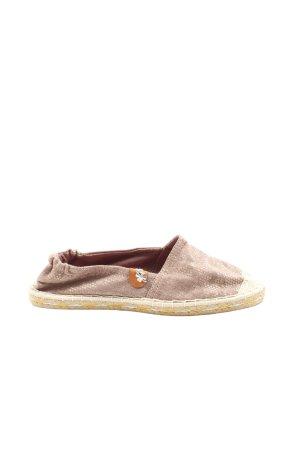 Mark Adam Espadrille sandalen bruin-wolwit volledige print casual uitstraling