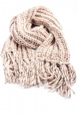 Mark Adam Fringed Scarf pink-brown casual look