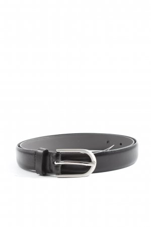 Mark Adam Leather Belt black casual look