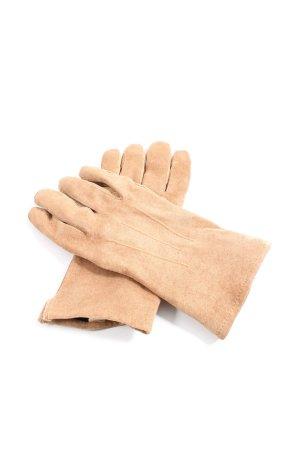 Mark Adam Leather Gloves nude casual look