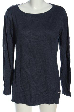 Mark Adam Crewneck Sweater blue casual look