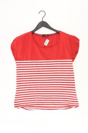 MARK ADAM Shirt Größe 42 gestreift rot