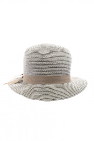 Mark Adam Straw Hat light grey-natural white casual look